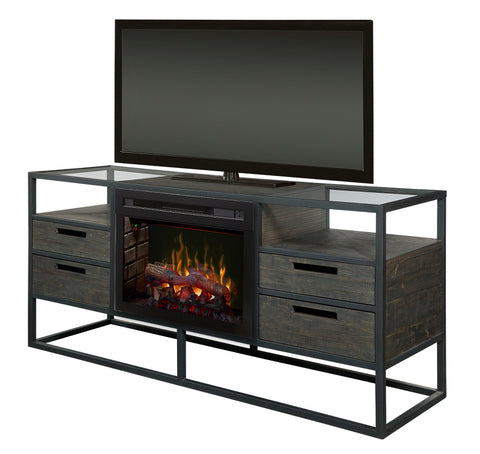 Dimplex Ivan Media Console Electric Fireplace (Realogs) - GDS25L5-4034NB