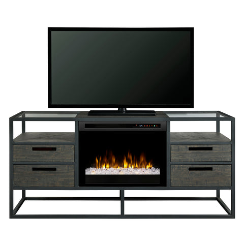 Dimplex Ivan Media Console Fireplace with XHD Series Firebox - GDS26G8-4034NB