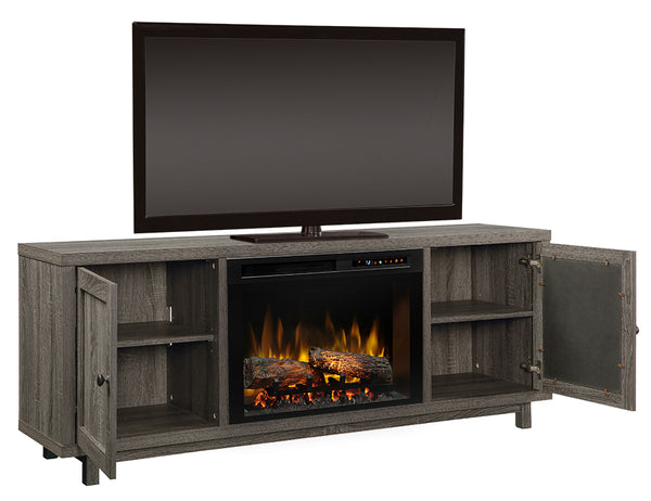 Dimplex Jesse Media Console Electric Fireplace With Logs - GDS26L8-1908IM