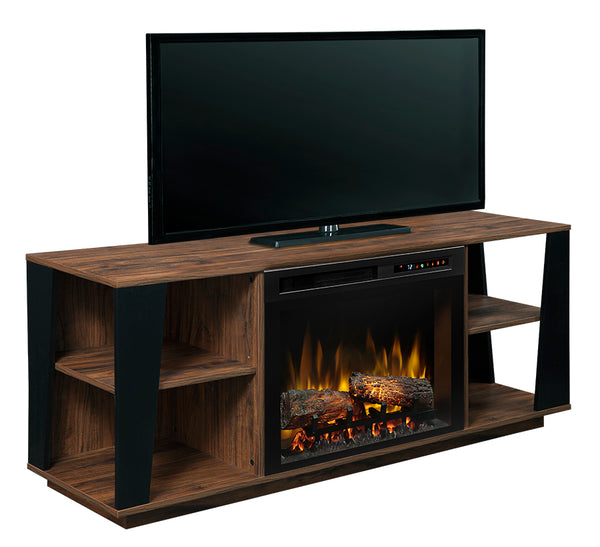 Dimplex Arlo Media Console Electric Fireplace With Logs - GDS26L8-1918TW