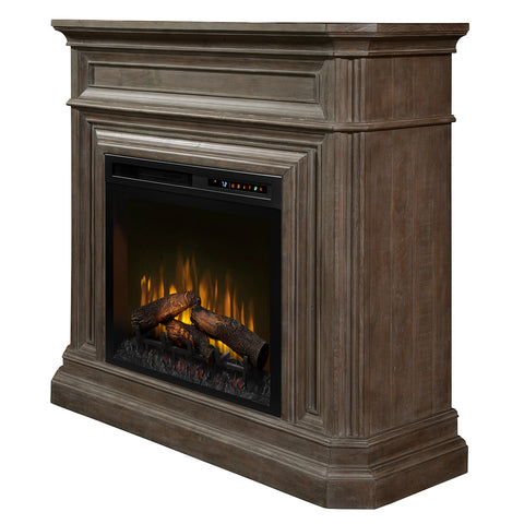 Dimplex Ophelia Mantel Electric Fireplace with Gas Logs - GDS28L8-1995BI