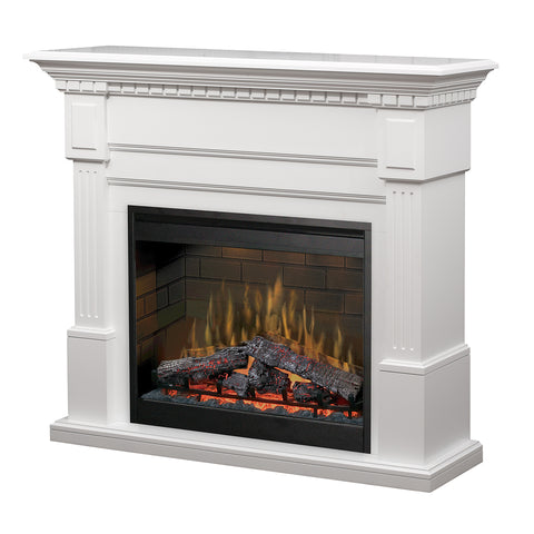 Dimplex Essex Mantel Electric Fireplace - Logs - GDS30L3-1086W