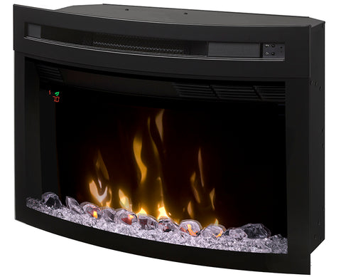 Dimplex 25-Inch Multi-Fire XD™ Electric Firebox With Curved Glass - PF2325CG