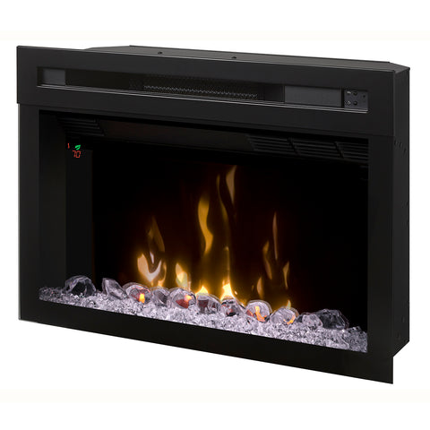 Dimplex 25-Inch Multi-Fire XD® Electric Firebox With Glass Ember Rocks - PF2325HG