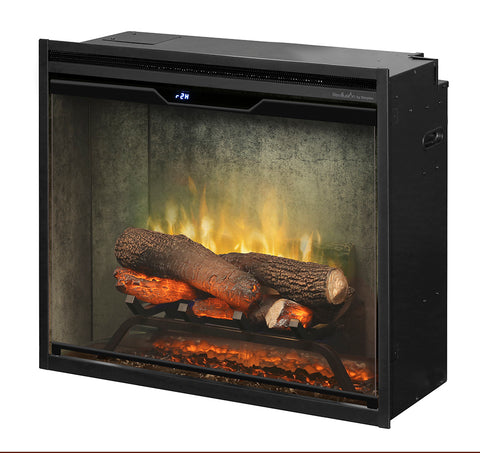 "Dimplex 24"" Revillusion Built-in Electric Firebox with Logs - RBF24DLXWC"