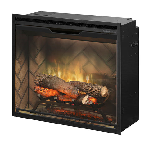 "Dimplex 24"" Revillusion Built-in Electric Firebox with Logs - RBF24DLX"