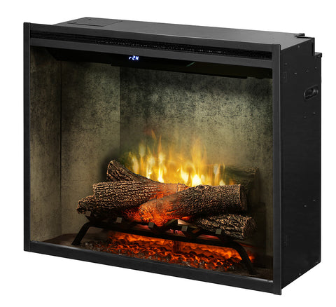 "Dimplex 30"" Revillusion Built-in Electric Firebox with Logs - RBF30WC"
