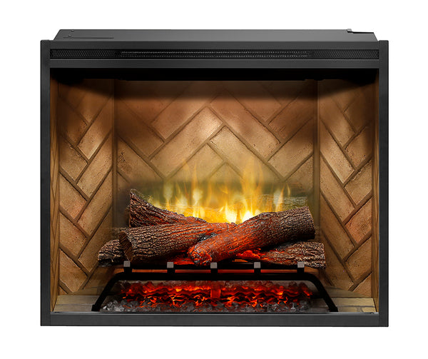 "Dimplex 30"" Revillusion Built-in Electric Firebox with Logs - RBF30"