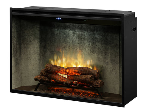 "Dimplex 42"" Revillusion Built-in Electric Firebox with Logs - RBF42WC"