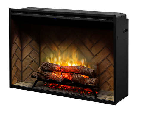 "Dimplex 42"" Revillusion Built-in Electric Firebox with Logs - RBF42"
