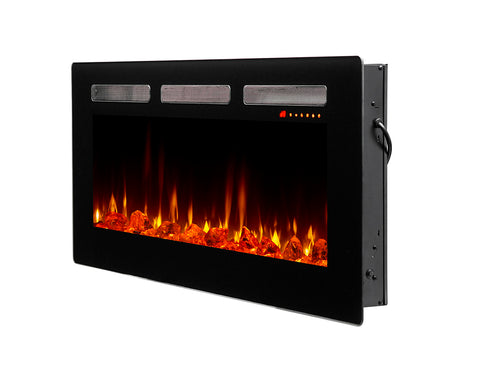 "Dimplex Sierra 40"" Wall-mount Electric Fireplace - SIL48"