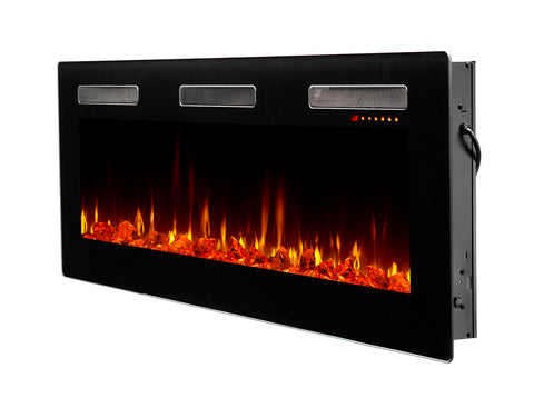 "Dimplex Sierra 60"" Wall-mount Linear Electric Fireplace - SIL60"