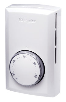 Dimplex Line Voltage Thermostat White - TD322W