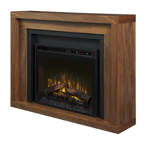 Dimplex Anthony 56-Inch Mantel Electric Fireplace - Walnut - Realogs - GDS28L8-1942WL