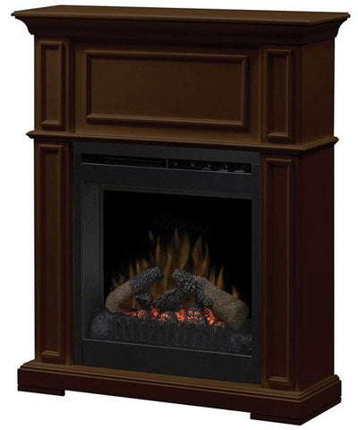 Dimplex Hayden Classic Electric Fireplace 4,777 BTU, Brown - DFP20L-1331BN