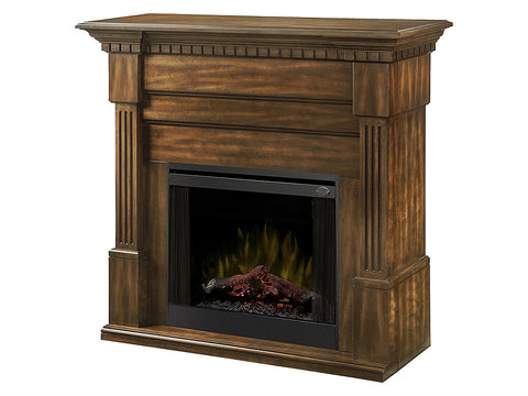 Dimplex Christina 56-Inch BuiltRite Fireplace Mantel - Burnished Walnut - BM3033-1801BW