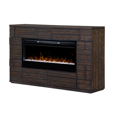 Dimplex Markus 75-Inch Mantel Electric Fireplace - Acrylic Ice Embers - GDS50G5-1559BT