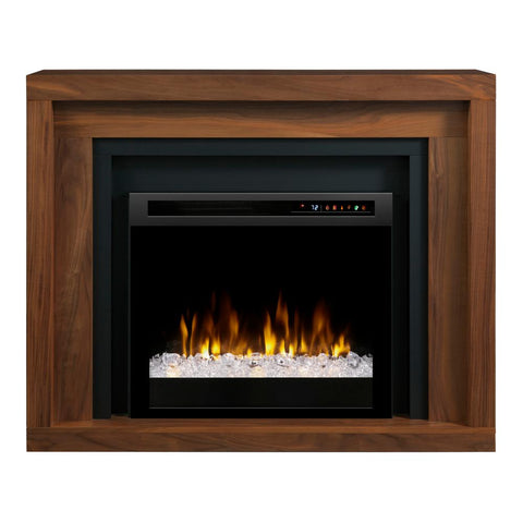 Dimplex Anthony Mantel Electric Fireplace With Glass Ember Bed - GDS28G8-1942WL