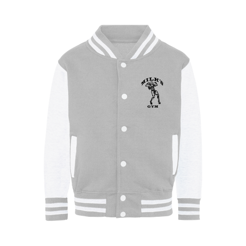 "MILKS ""GYM"" Varsity Jacket"