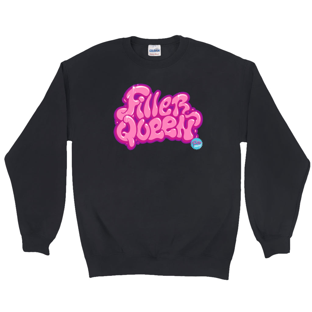 "SWEATSHIRTS - TRIXIE MATTEL ""FILLER QUEEN"" SWEATSHIRT"