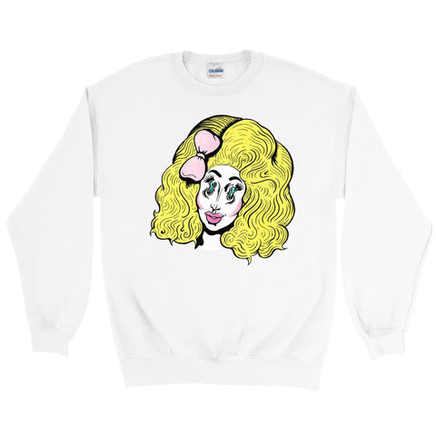 "TRIXIE MATTEL ""FILLER QUEEN"" SWEATSHIRT"