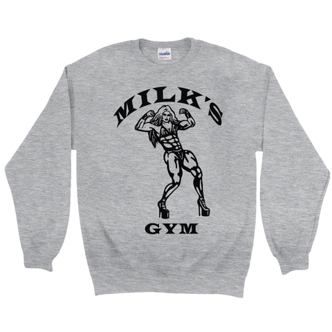 "MILK ""MILK'S GYM"" SWEATSHIRT"