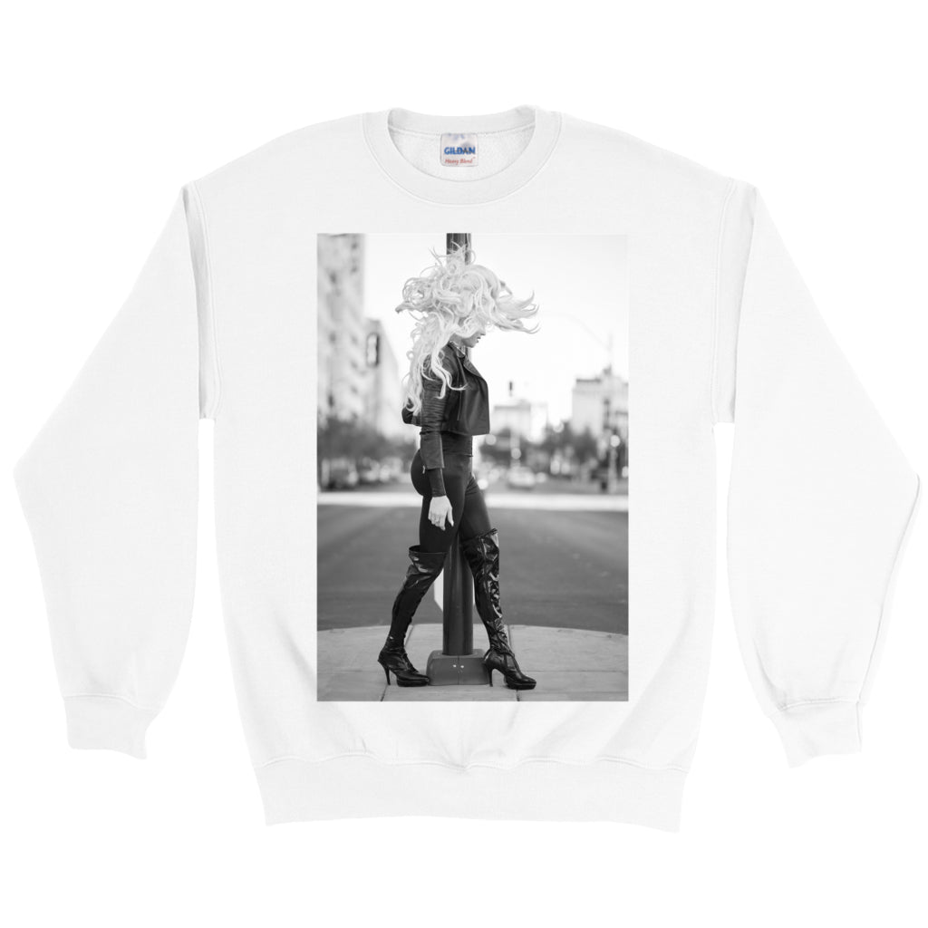 "NEBRASKA THUNDERFUCK ""STREET WALKING"" SWEATSHIRT"