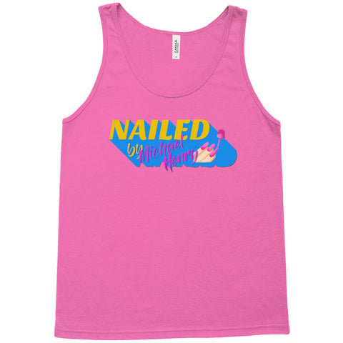 "MICHAEL HENRY ""NAILED"" TANK TOP"