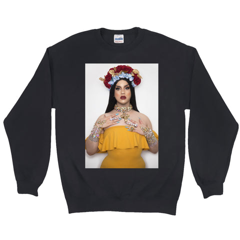 JANELLE NO. 5 PORTRAIT SWEATSHIRT