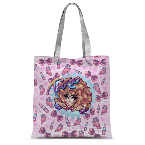 UK LISTING - BIBLEGIRL CHOOSE UR FIGHTER SUBLIMATED TOTE BAG