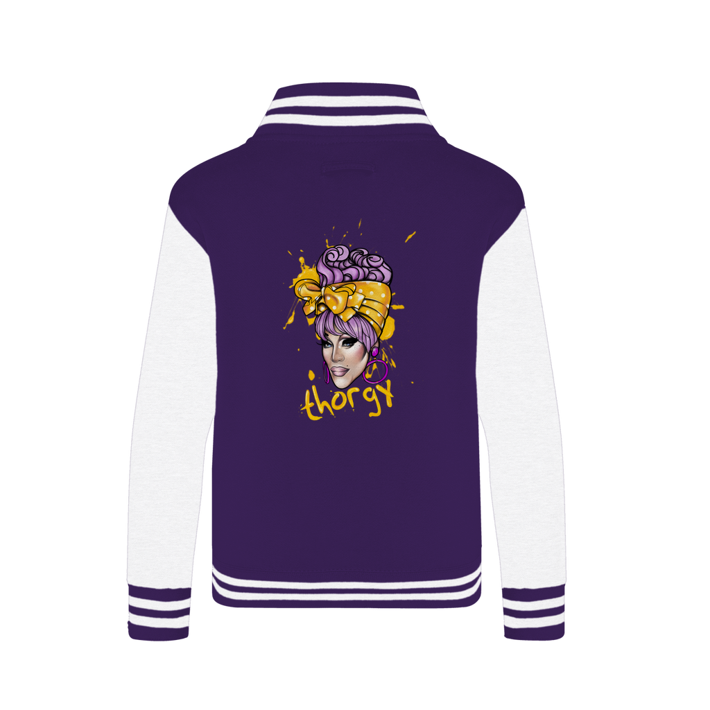 "THORGY ""ILLUSTRATION"" Varsity Jacket"