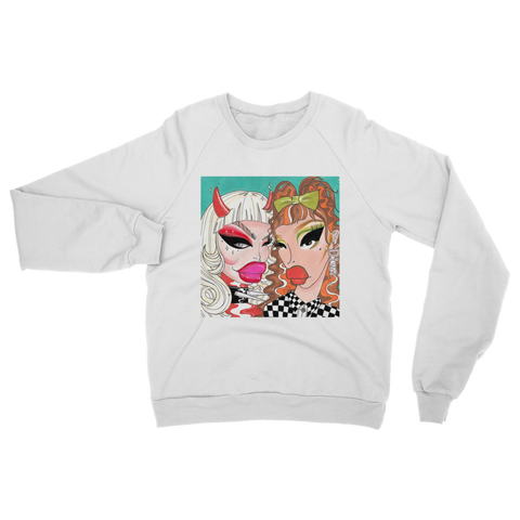 "HAUS OF PISS ""THE DIVAS"" Classic Adult Sweatshirt"