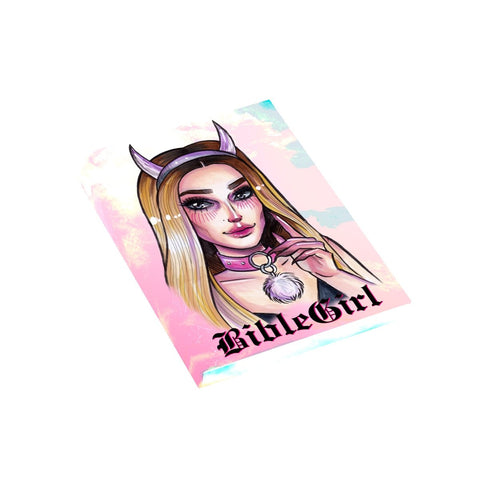 "BIBLEGIRL ""GREEN HAIR"" T-Shirt Dress"