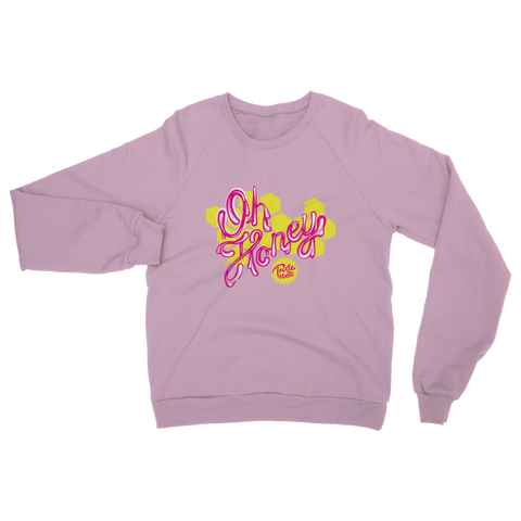 "UK LISTING - TRIXIE MATTEL ""OH HONEY"" Classic Adult Sweatshirt"