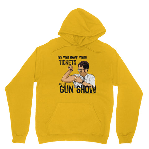 "THE OFFICE ""DWIGHT GUN SHOW"" Classic Adult Hoodie"