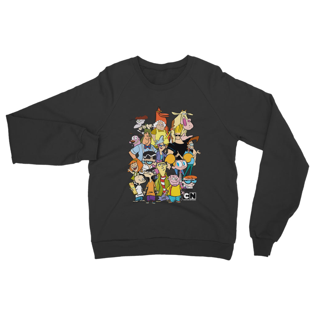 "Apparel - Cartoon Network ""Character Collage"" Classic Adult Sweatshirt"