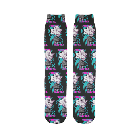 "TRIXIE MATTEL ""ELECTRIC DAISY"" Sublimation Tube Sock"