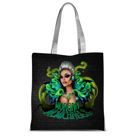"UK LISTING - MORGAN MCMICHAELS ""QUEEN"" Classic Sublimation Tote Bag"