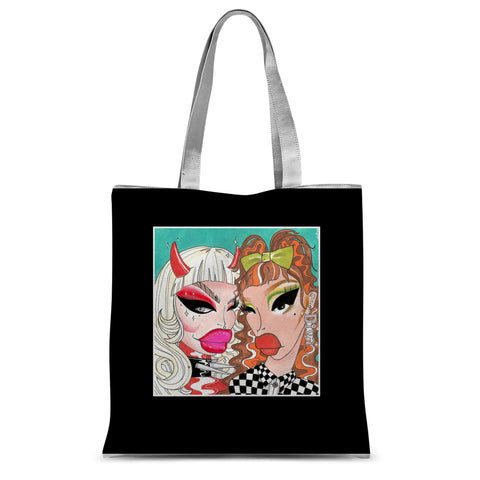 TRIXIE / KATYA BRITISH MOD Shopper Tote Bag