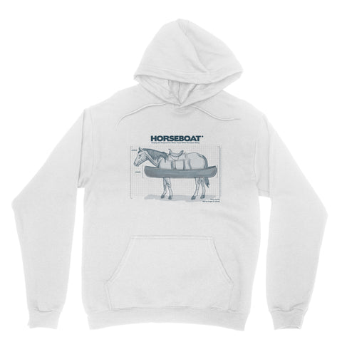 "THE OFFICE ""HORSEBOAT"" Classic Adult Hoodie"
