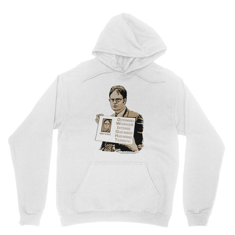 "THE OFFICE ""DWIGHT - ACRONYM"" Classic Adult Hoodie"