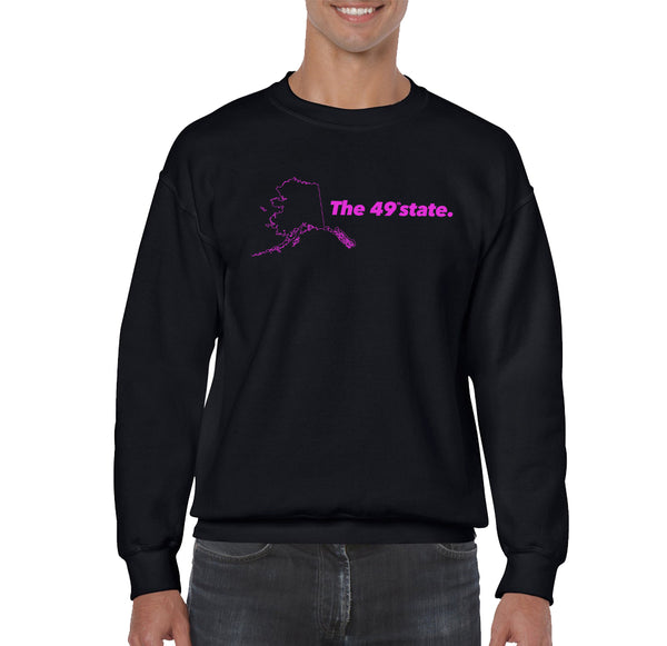 SWEATSHIRTS - ALASKA THUNDERFUCK 49TH STATE SWEATSHIRT