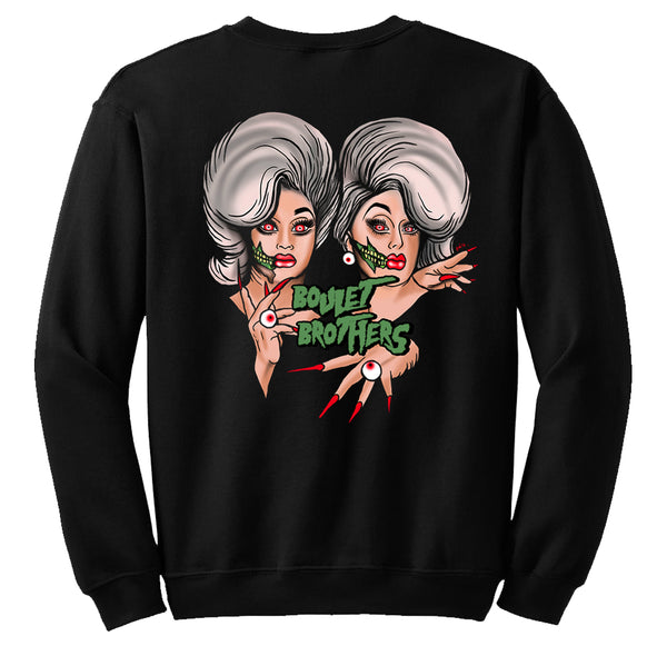 SWEATSHIRTS - BOULET BROTHERS EMETIC ART SWEATSHIRT