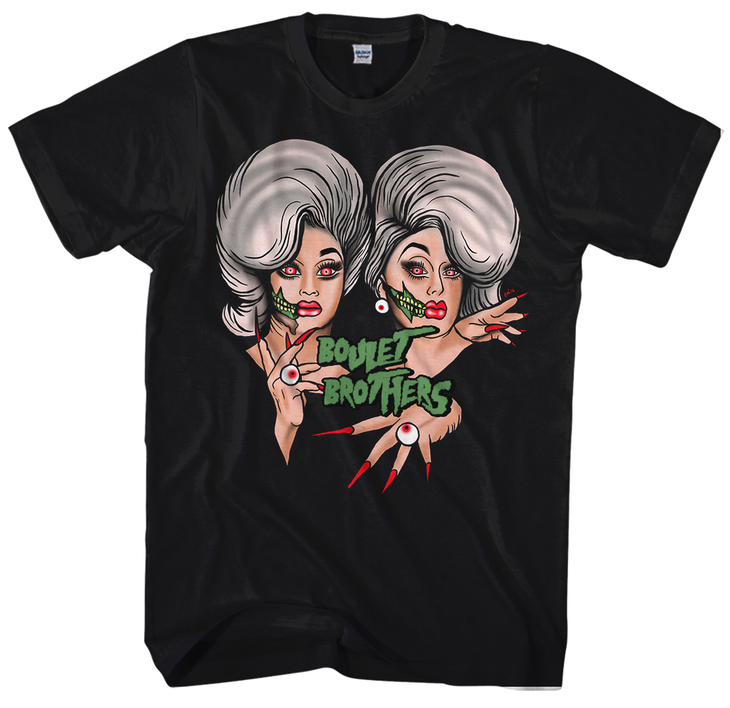 UK LISTING - BOULET BROTHERS EMETIC ART T-SHIRT