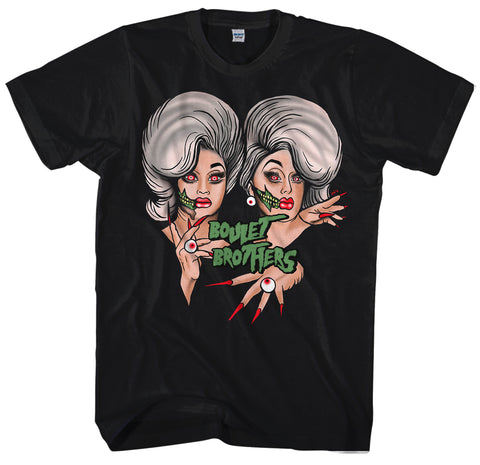 UK LISTING - BOULET BROTHERS BY NEON CLOWN Classic Adult T-Shirt