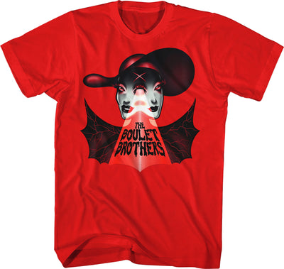 "T-SHIRTS - BOULET BROTHERS ""BAT WINGS"" By Micah Souza T-SHIRT"