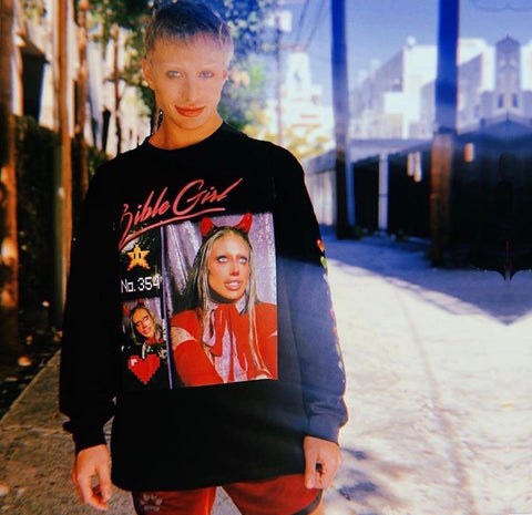 "UK LISTING - BIBLEGIRL ""BIG REPUTATION"" Classic Adult Sweatshirt"