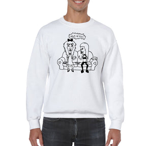 SWEATSHIRTS - HAUS OF PISS B&B SWEATSHIRT