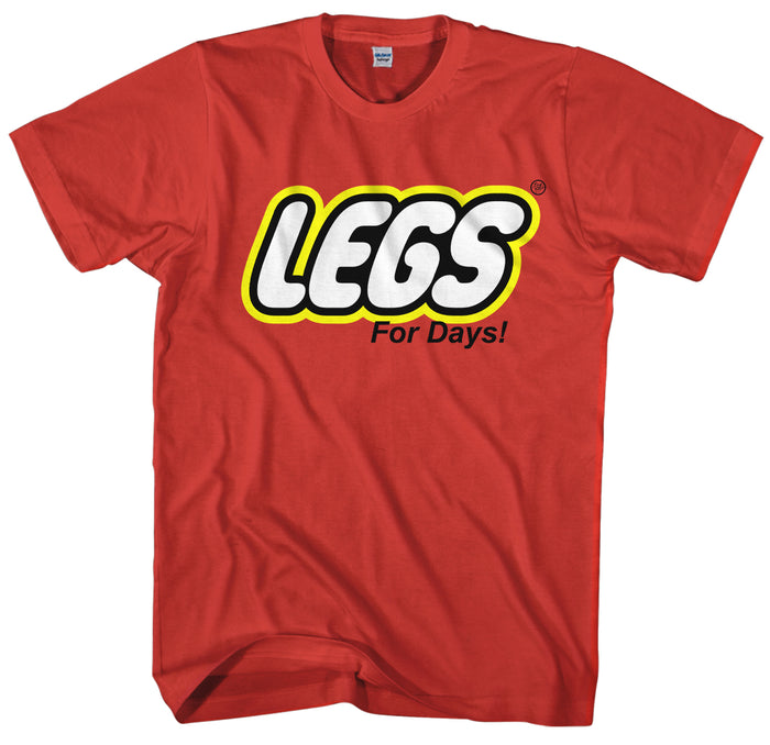 T-SHIRTS - DRAGSTYLZ LEGS FOR DAYS T-SHIRT