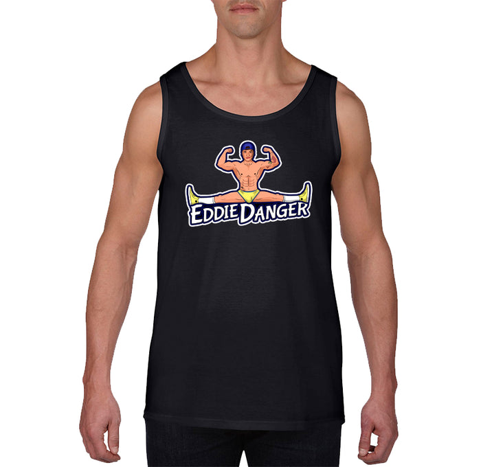 TANK TOPS - EDDIE DANGER SPLIT TANK TOP